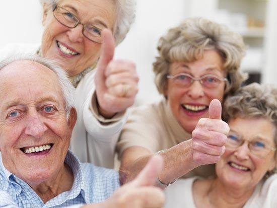 רמות האושר עולות לקראת גיל 65-70 / צלם: פוטוס טו גו